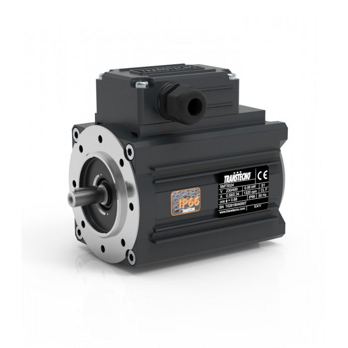 MOTOR TRANSTECNO SMT7124 B14 1500 RPM 230/400V 0,37KW IP66