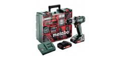 TALADRO METABO SB18L SET TALLER MOVIL+2X2Ah+CARG.