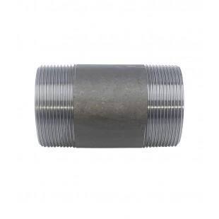 """NIPPLE HIERRO NEGRO M/M D-2982 (L.100MM) 1-1/4"""""""