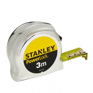 FLEXOMETRO STANLEY 3M X 19MM POWERLOCK 0-33-522