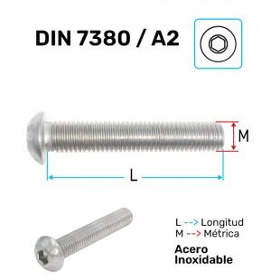 TORNILLO A-2 ISO-7380