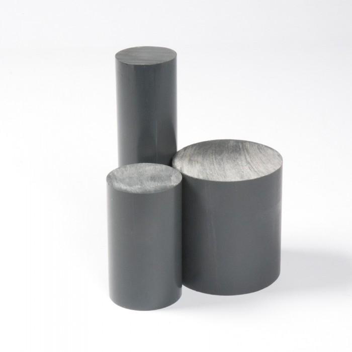 BARRA PVC GRIS Ø90MM