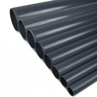 TUBO PVC PRESION PN-10 40MM ENCOLAR GRIS