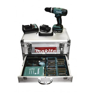 TALADRO MAKITA HP347DWEX1 14,4V 1,3Ah + MALETIN ACCESORIOS