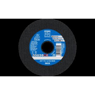 DISCO DE CORTE CABALLITO EHT115-1,0 A60R SG INOX.