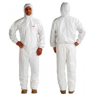 TRAJE DE PROTECCION BLANCO 3M CAT-3 P4545XL